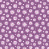Purple flowers seamless background Royalty Free Stock Image