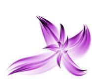 Purple Fractal Flower Royalty Free Stock Photography