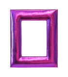 Purple frame Stock Image