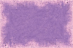 Purple Frame. And abstract image Stock Photography