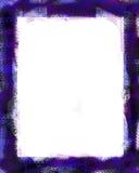 Purple frame. Grunge frame stock illustration