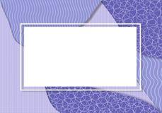 Purple frame royalty free illustration