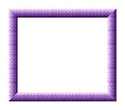Purple frame Royalty Free Stock Images