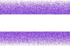 Purple explosion of confetti. Purple frame isolated on white background. Magenta explosion of  confetti.  Mauve flat design element. Vector illustration,eps 10 Royalty Free Stock Image