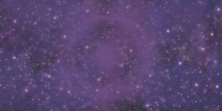 Purple Galaxy Stock Image
