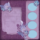 Purple Garden Royalty Free Stock Image