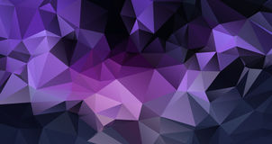 Purple Geometric background  eps 10 Royalty Free Stock Photos