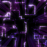 Purple Geometric Pattern Stock Photo