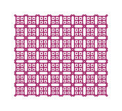 Purple geometric pattern, seamless Royalty Free Stock Image