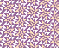 Purple geometric pattern Stock Images