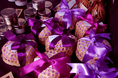 Purple Gift Stock Photography