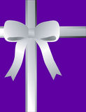 Purple Gift Background Royalty Free Stock Images