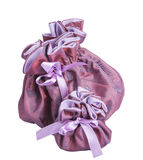Purple gift box for jewelery Royalty Free Stock Photo