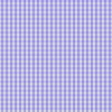 Purple Gingham Fabric Background Royalty Free Stock Photo
