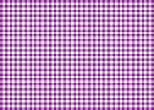 Purple Gingham Pattern Background Stock Photography