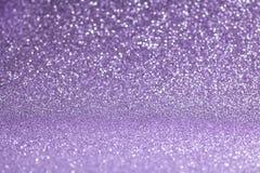 Purple glitter bokeh background royalty free stock photography