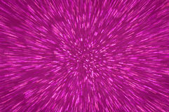 Purple glitter explosion lights abstract background Stock Images