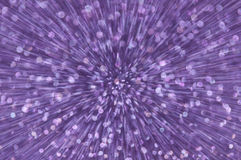 Purple glitter explosion lights abstract background Royalty Free Stock Photos