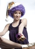 Purple and gold Royalty Free Stock Photography