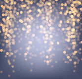Purple and golden luminous background. Royalty Free Stock Image