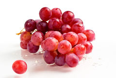 Purple grape fruit Stock Image