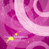Purple graphic background Stock Photos