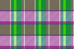 Purple green color check fabric texture seamless pattern. Vector illustration vector illustration