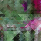 Purple and green defocused background Stock Image
