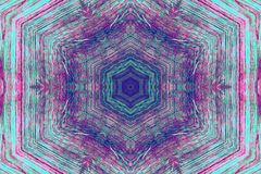 Multi colored kaleidoscope pattern stock photos