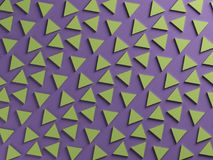 Purple and green two color textured background Stock Image