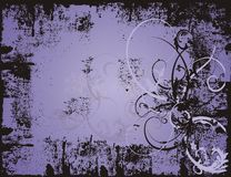 Purple grunge background Stock Image