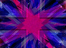 Purple grunge Christmas star background Royalty Free Stock Images