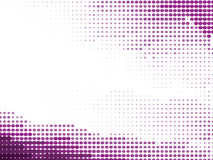 Purple Half-Tone Organic Background. Abstract Purple dotted halft-tone background Vector Illustration