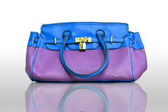 Purple Handbag Royalty Free Stock Images