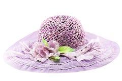 Purple hat Royalty Free Stock Photo