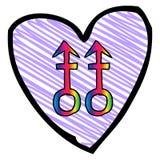Purple Heart Fotografía de archivo