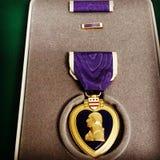 Purple Heart Fotos de archivo libres de regalías