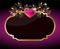 Purple Heart Card Stock Image