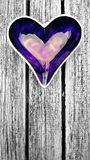 Purple heart Stock Images