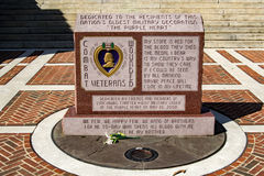 Free Purple Heart Monument – Lynchburg, Virginia, USA Royalty Free Stock Photo - 76058665