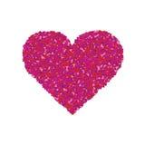 Purple heart Royalty Free Stock Photos