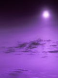 Purple heaven Royalty Free Stock Photos