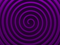 Purple helix abstract background. 3D. Illustration. This image works good for text backgrounds, website backgrounds, or print royalty free illustration