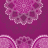 Purple henna background Royalty Free Stock Photography