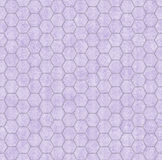 Purple Honey Comb Shape Fabric Background Stock Photography