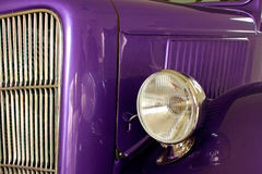 Purple Hot Rod Royalty Free Stock Photography