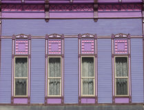 Purple House royalty free stock image