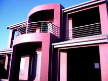 Purple House At Henley. Photo taken of a purple beach house on the Esplanade at Henley Beach, Adelaide royalty free stock photography