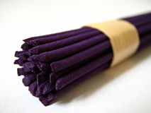 Purple Incense Royalty Free Stock Photos