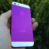 Purple iphone Royalty Free Stock Photo